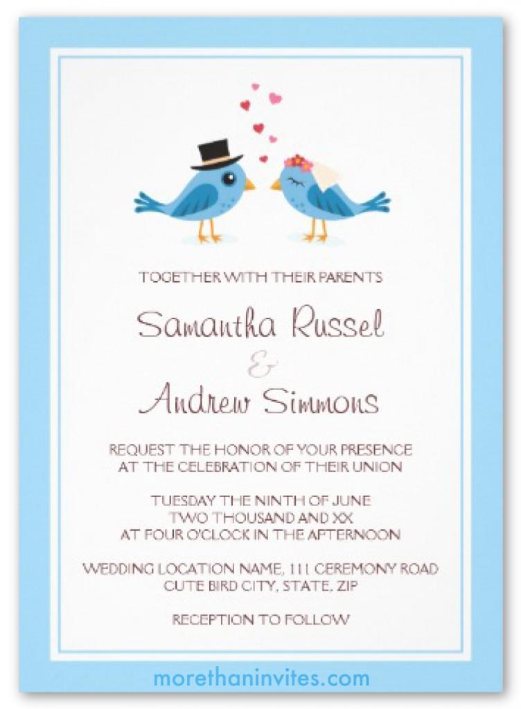 Cute Wedding Invitation Wording Samples ~ Yaseen for .