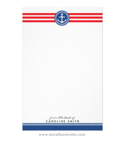 Nautical stripe borders more than invites page 8 of 12 party