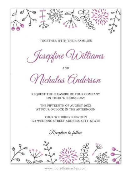 Weddings Archives - More than invites