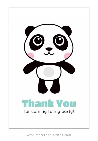 Kids birthday party Archives More than invites – Panda Birthday Invitations